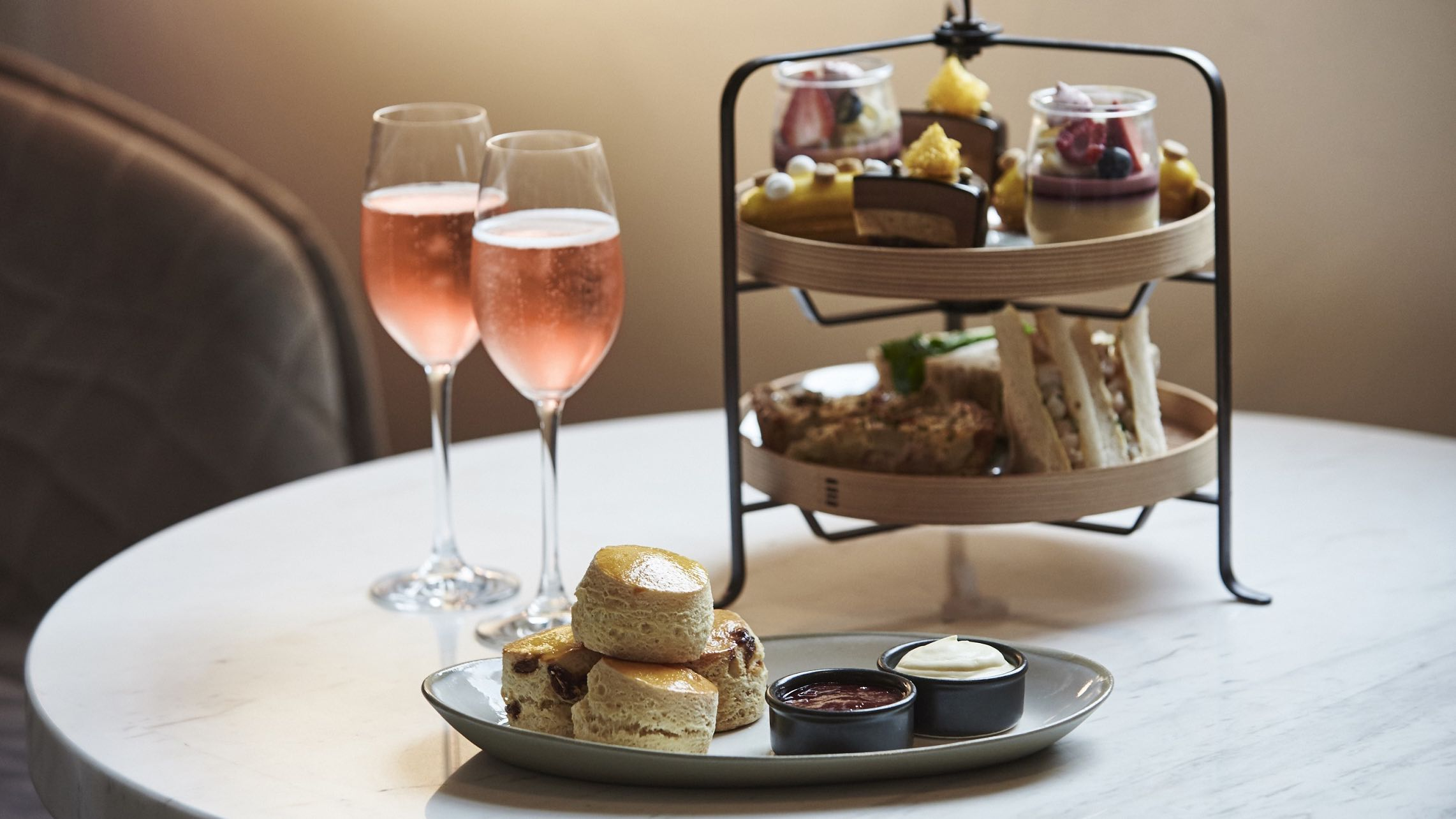Afternoon Tea in The Treasury Lounge and Bar